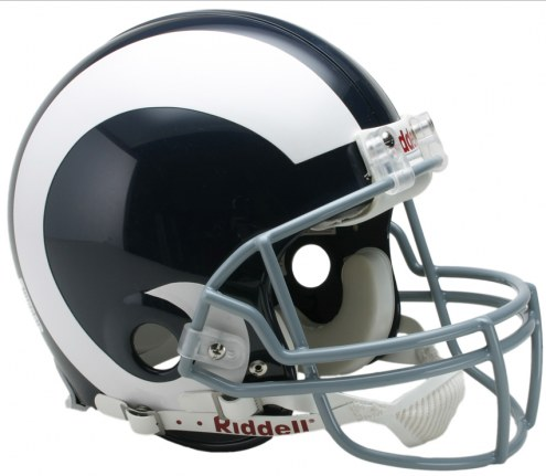 Los Angeles Rams 65-72 Riddell VSR4 Authentic Full Size Football Helmet