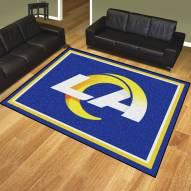 Los Angeles Rams 8' x 10' Area Rug