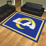 Los Angeles Rams 8' x 10' Area Rug