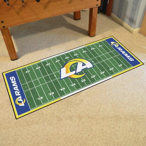 Los Angeles Rams Football Field Runner Rug