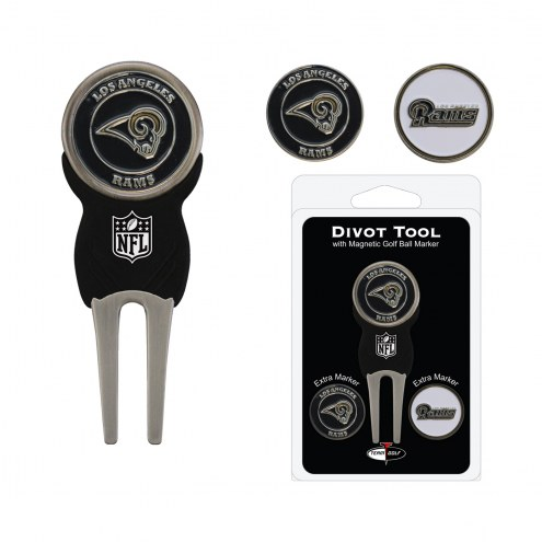 Los Angeles Rams Golf Divot Tool Pack