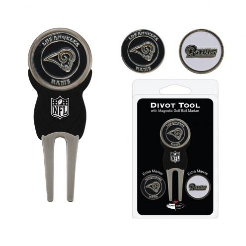 Los Angeles Rams Golf Divot Tool Pack