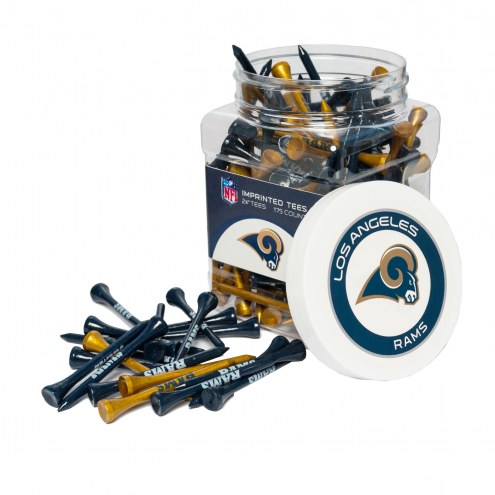 Los Angeles Rams 175 Golf Tee Jar