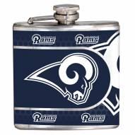 Los Angeles Rams Hi-Def Stainless Steel Flask