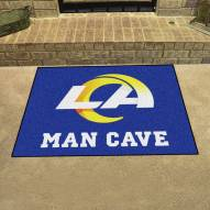 Los Angeles Rams Man Cave All-Star Rug
