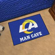 Los Angeles Rams Man Cave Starter Mat