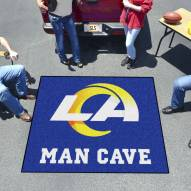 Los Angeles Rams Man Cave Tailgate Mat
