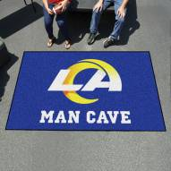 Los Angeles Rams Man Cave Ulti-Mat Rug