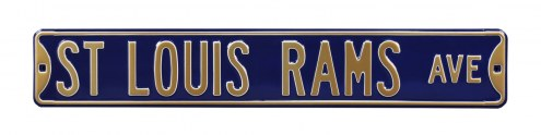 Los Angeles Rams NFL Authentic Street Sign