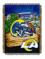 Los Angeles Rams NFL Woven Tapestry Throw