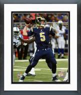 Los Angeles Rams Nick Foles Action Framed Photo