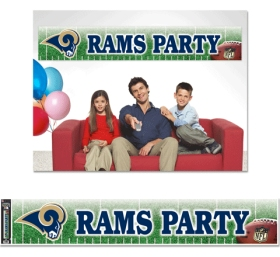 Los Angeles Rams Party Banner