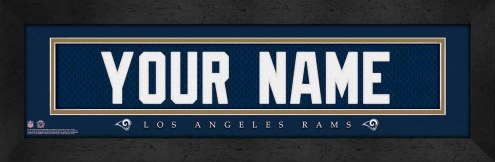 Los Angeles Rams Personalized Stitched Jersey Print