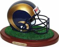 St. Louis Rams Collectible Football Helmet Figurine