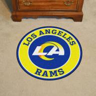 Los Angeles Rams Rounded Mat
