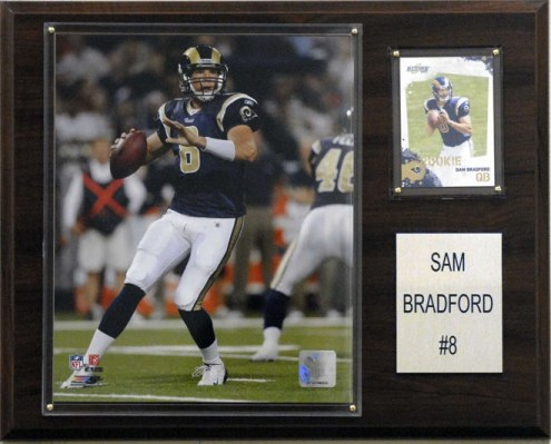 "Los Angeles Rams Sam Bradford 12 x 15"" Player Plaque"