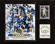 "Los Angeles Rams 12"" x 15"" Super Bowl XXXIV Champions Plaque"