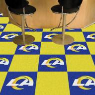 Los Angeles Rams Team Carpet Tiles