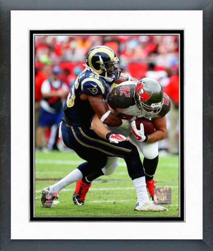 Los Angeles Rams T.J. McDonald Action Framed Photo