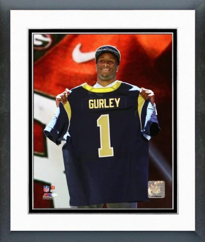 Los Angeles Rams Todd Gurley NFL Draft #10 Pick Framed Photo