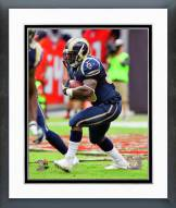 Los Angeles Rams Zac Stacy Action Framed Photo