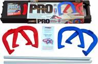St. Pierre American Professional Series Horseshoe Set - Red/Blue