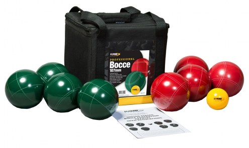 St. Pierre Professional 107mm Bocce Set with Nylon Bag