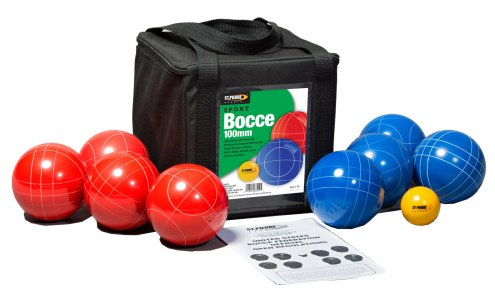 St. Pierre Sport 100mm Bocce Set with Nylon Bag
