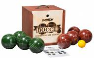 St. Pierre Tournament 107mm Bocce Set in Wood Box