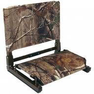 "Patented ""Stadium Chair"" Realtree Stadium Seat"