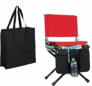 Stadium Chair Carry Bag and Storage Combo