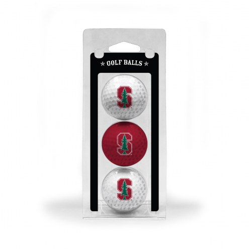 Stanford Cardinal 3 Pack of Golf Balls