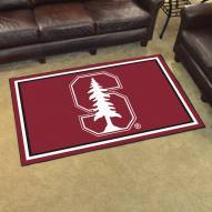 Stanford Cardinal 4' x 6' Area Rug