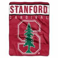 Stanford Cardinal Basic Plush Raschel Blanket