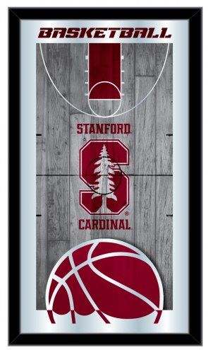 Stanford Cardinal Basketball Mirror