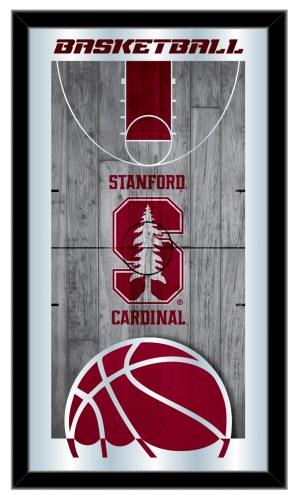 Stanford Cardinal Basketball Mirror