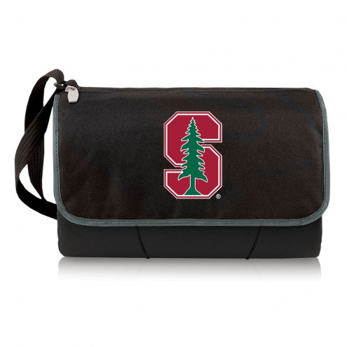 Stanford Cardinal Black Blanket Tote