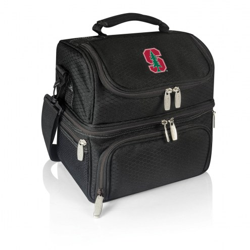 Stanford Cardinal Black Pranzo Insulated Lunch Box