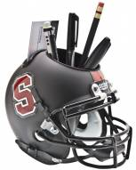 Stanford Cardinal Black Schutt Football Helmet Desk Caddy