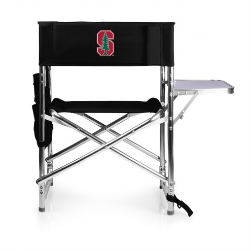 Stanford Cardinal Black Sports Folding Chair