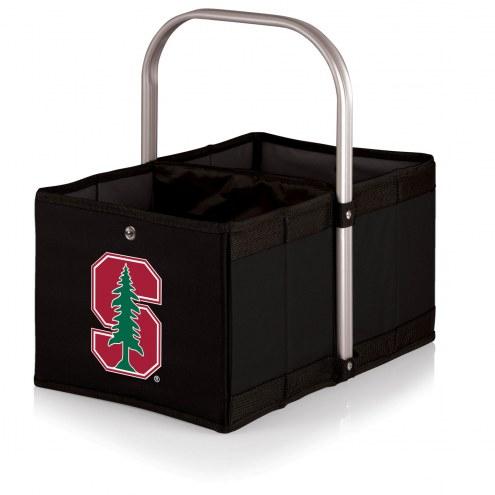 Stanford Cardinal Black Urban Picnic Basket
