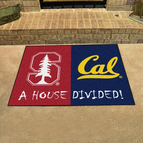 Stanford Cardinal/California Golden Bears House Divided Mat