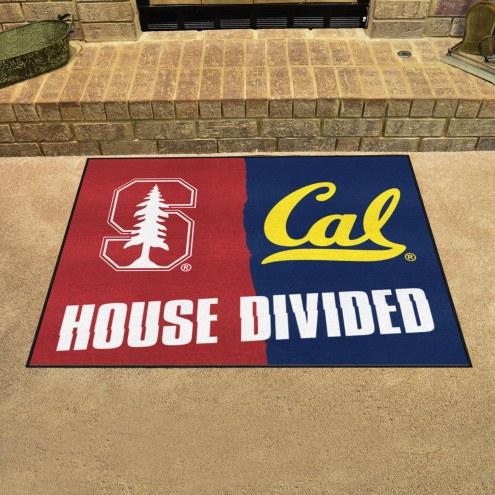 Stanford Cardinal/California Golden Bears House Divided Mat