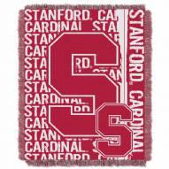 Stanford Cardinal Double Play Woven Throw Blanket