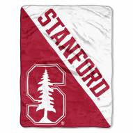 Stanford Cardinal Halftone Raschel Blanket