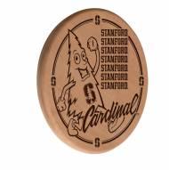 Stanford Cardinal Laser Engraved Wood Sign