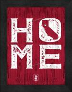 Stanford Cardinal Home Away From Home Wall Decor