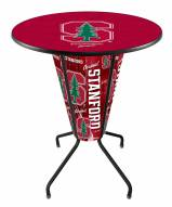 Stanford Cardinal Indoor/Outdoor Lighted Pub Table