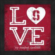 Stanford Cardinal Love My Team Color Wall Decor