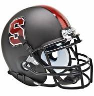 Stanford Cardinal Matte Black Schutt Mini Football Helmet